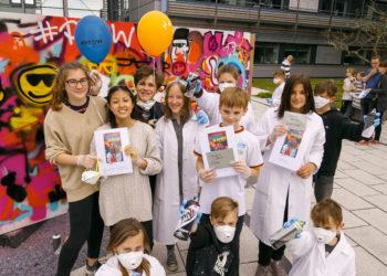 Eventfoto Kindergruppe Potsdamer Tag der Wissenschaften - P3 Projekt