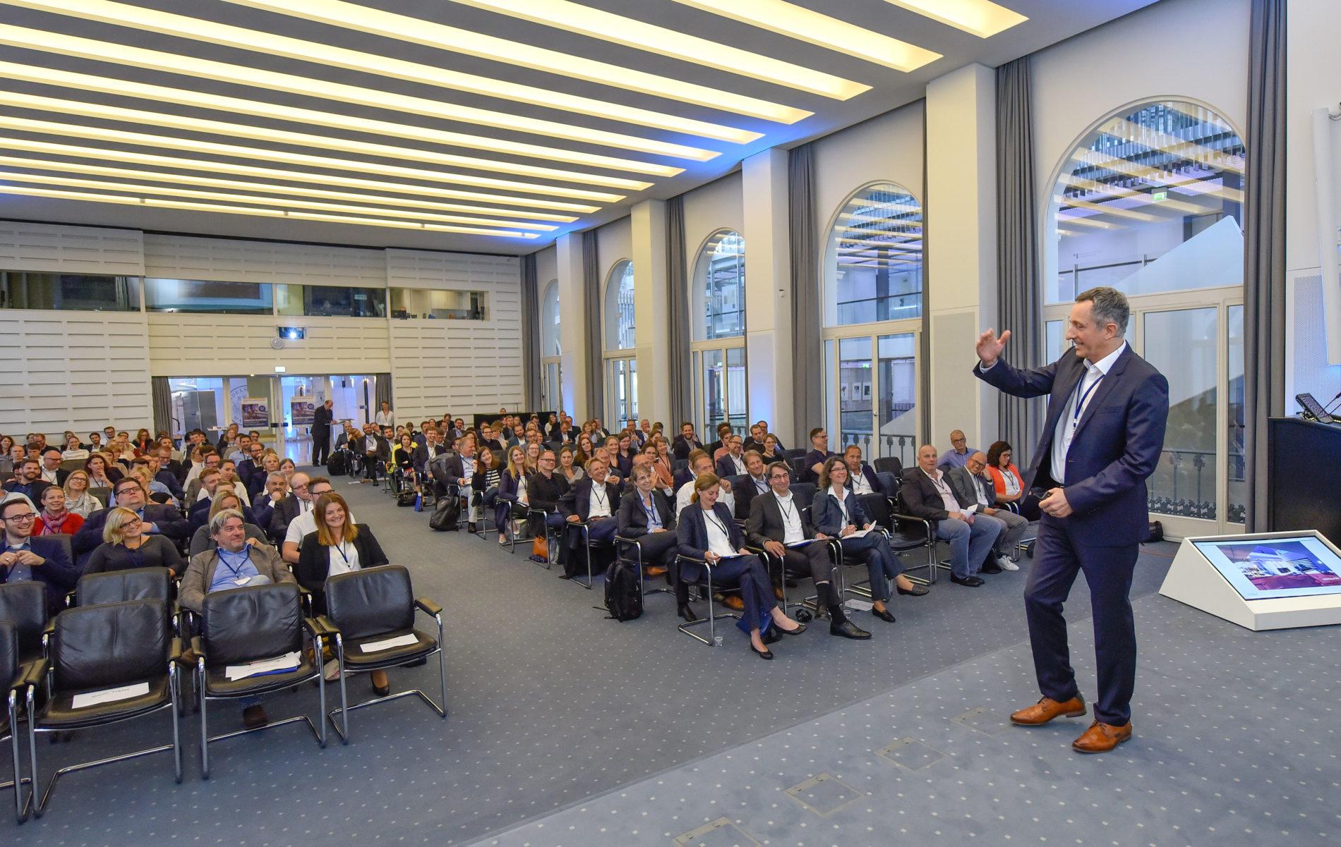 Eine Präsentation zum Marketing Innovation Day